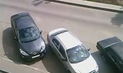 парковка на дороге
