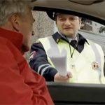 Гаишник и водитель