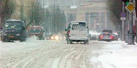 Езда в снегопад