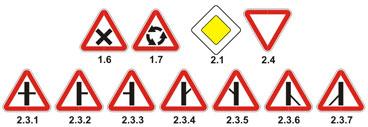 Проезд перекрестков. Алгоритм проезда перекрестков