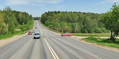 Перекресток на трассе