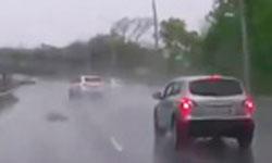 Авария на скользкой дороге