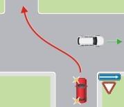 Движение во встречном направлении по дороге с односторонним движением