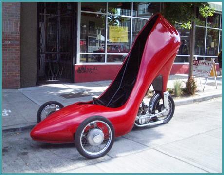 Дамская туфелька