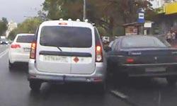 Дтп при объезде пробки