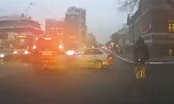 Дтп при проезде на желтый свет