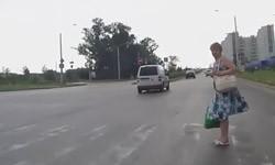 Пешеходные переходы на перекрестках