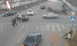 ДТП при разъезде на нерегулируемом перекрестке