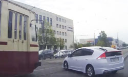 Дтп с трамваем во время разворота