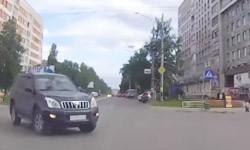 Дтп на прямой через перекресток