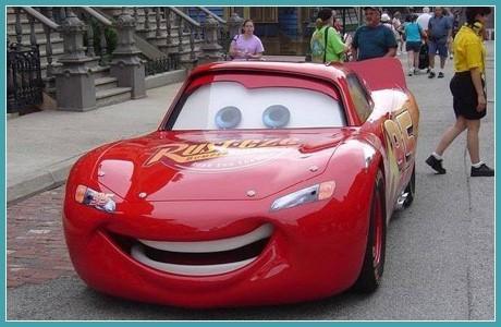 Оформление под игрушечный автомобиль