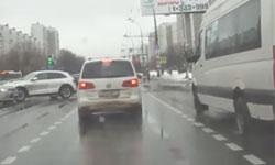 Дтп на выезде с регулируемого перекрестка