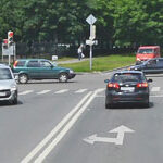 Особенность левого поворота на перекрестках