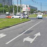 Особенность выполнения левого поворота на перекрестках