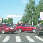Дтп на повороте налево