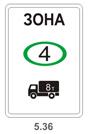 Знак экокласса для грузовиков