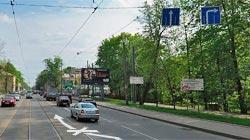 Запрет на трамвайные пути